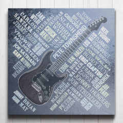 Guitar Legends Canvas Steel