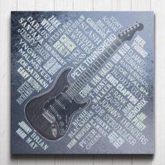 Guitar Legends Canvas Steel