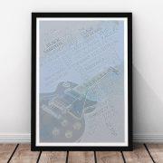 Rock Legends Print - Steel